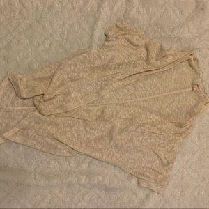 Woven cardigan